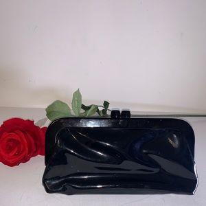 Handbags - Patent leather  evening clutch